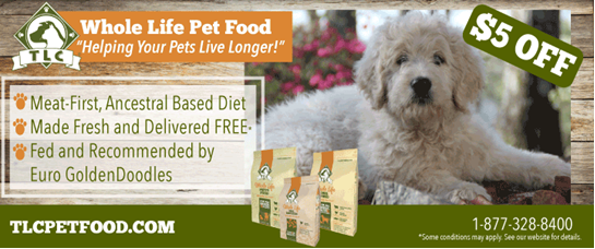 TLC Whole Life Puppy Food Coupon 1